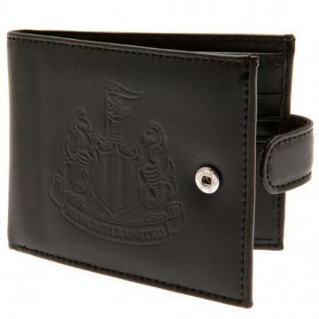 Newcastle United Leather Wallet with Anti-Fraud
